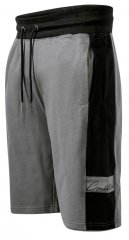 D555 Casper Couture Elasticated Waistband Shorts Grey
