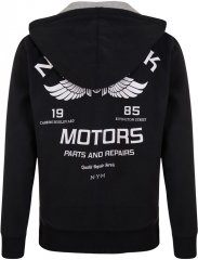 Kam Jeans 773 New York Motors Hoodie Black
