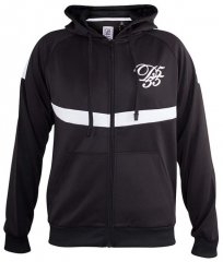 D555 Bristol Couture Zip Through Hoody Black