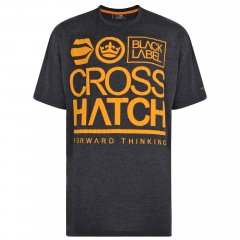 Crosshatch Large Go T-shirt Charcoal