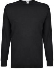 Kam Jeans 835 Long Sleeve Thermal T-shirt Black