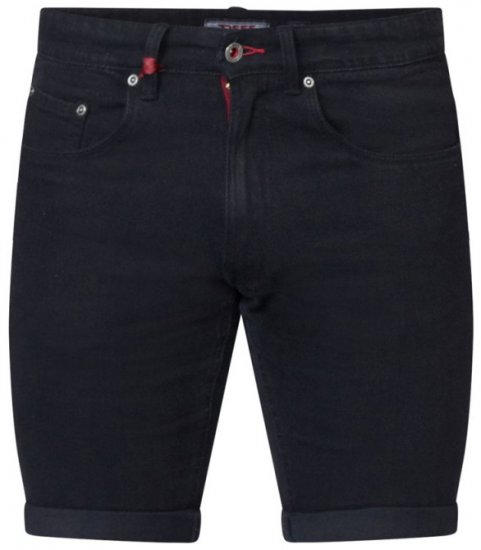 D555 Jude Stretch Denim Shorts Black - Šortai - Šortai - W40-W60