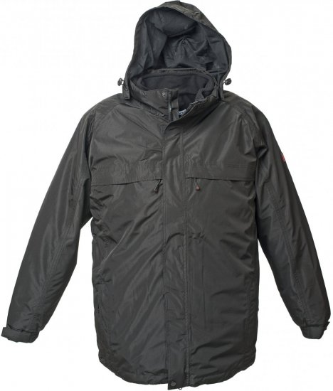 Marc & Mark 3-in-1 Lech Tech-jacket Black - Striukės & Lietaus apranga - Striukės - 2XL-8XL